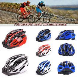 Super light road bike helmetS online shopping - Bicycle Helmet Cycling Adult Adjustable Unisex Safety Helmet Super Light Men Women MTB Mountain Road Bike Helmets
