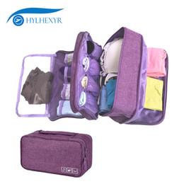 $enCountryForm.capitalKeyWord UK - wholesale Multi Layer Bra Underwear Bag Portable Waterproof Sock Pouch Women Travel Toiletry Package Polyester Luggage