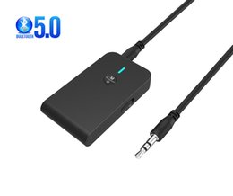 wireless bluetooth receiver for tv UK - 2 in 1 Wireless Bluetooth 5.0 Transmitter Rechargeable Receiver for TV Computer Car Speaker 3.5mm AUX Hi-Fi Music Audio Adapter