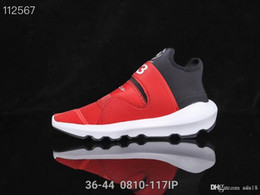 y3 qasa shoes 2019 - Top Casual Shoes Y-3 QASA RACER Hight Sneakers Breathable Men and Women Casual Shoes Couples Y3 Outdoor Trainers Size Eu