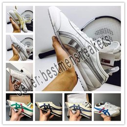 Bruce Spring Australia - NEW Tiger Bruce lee Flat Onitsuka Running Shoes Mens And Womens Comfortable Leather Zapatillas Athletic Outdoor Sport Sneakers