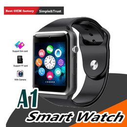 $enCountryForm.capitalKeyWord Australia - A1 WristWatch Bluetooth Smart Watch Sport Pedometer With SIM Camera Smartwatch For Android Smartphone Russia T15 good than DZ09