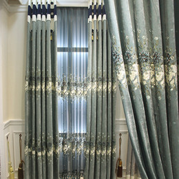 $enCountryForm.capitalKeyWord NZ - European luxury light delicate embroidered cloth curtain curtain sitting room the bedroom curtains