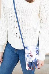 $enCountryForm.capitalKeyWord Australia - Leather Crossbody Bag Women Girl Outdoor Tassel Shoulder Bag Hand Phone Messenger Bags for Women 2019 bolsa feminina
