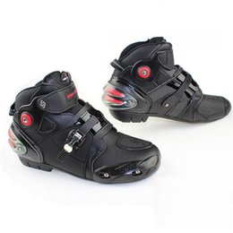 bikers boots UK - New Genuine Pro-biker boots motorcycle racing boats men motocross riding shoes