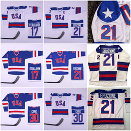 $enCountryForm.capitalKeyWord Australia - Mens 1980 USA 17 Jack O'Callahan 30 Jim Craig 21 Mike Eruzione Hockey Jersey Team Callahan Year Miracle On Olympics Blue White Stitched