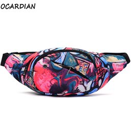 Wholesale Pillow Packs Australia - OCARDIAN Waist Pack RunningMoney Belt For Travel Waist Bag Men Unisex Belt Bag Women Sport Luminous Strip Phone Dropship A25