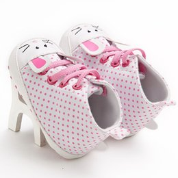 $enCountryForm.capitalKeyWord Australia - Canvas fashion high help dot female baby casual toddler shoes