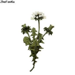 $enCountryForm.capitalKeyWord UK - Vintage Flowerses Natural Pearl Dandelion Branches Flowers Fashion Brooch Pin Scarf Jewelry