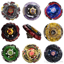 Wholesale Beyblade Pack Australia - 4D Beyblade Stadium Super Metal Top Rapidity Fight Master Launcher Grip Toy All Style Beyblade With Packing + Launcher