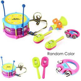 $enCountryForm.capitalKeyWord Australia - Kids Children Early Educational Puzzle Toys Jazz Drums Toys Instrument Kit Fashion Toys