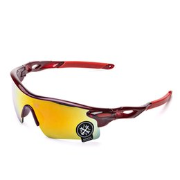 Wholesale Sports Cycling Sunglasses New riding sunglasses fashion men Bicycle Glass Sports goggles driving sunglasses cycling outdoors Wind