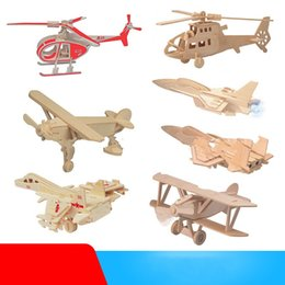 $enCountryForm.capitalKeyWord Australia - Artificial Aircraft Model For Kids Various Styles Dinosaur Vehicle Robot Models Wooden Toys Hot Selling Building Blocks 2 01hr M1