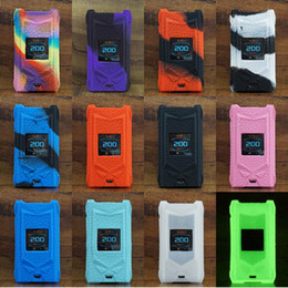 Snowwolf caSe online shopping - Snowwolf Mfeng Case vape W TC Mod Silicone Sleeve Cover Wrap Colorful Skin cases Protective Covers e cigarette DHL