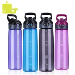 classic plastics Australia - Oneisall Plastic Water Bottle Sport Brief Tumbler Flask Botella Agua Climbing Hiking Camp Tour Shaker Bottle 700ml My Bottle J190722