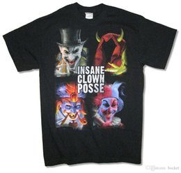 Black Blocks Australia - Insane Clown Posse Blocks Portraits Juggalo Black T Shirt New Official ICP