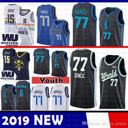 Toronto Pascal 43 Siakam Raptors Denver Jersey Nuggets Nikola 15 Jokic 2019  New The City Dallas Luka 77 Doncic Mavericks Basketball Jerseys c0006c511