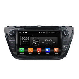 "Link Video UK - IPS Octa Core 2 din 8"" Android 8.0 Car DVD Radio GPS for Suzuki SX4  S Cross 2014 With 4GB RAM 32GB ROM Bluetooth WIFI Mirror-link"