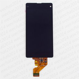 $enCountryForm.capitalKeyWord Australia - 100PCS LCD Display Touch Screen Digitizer Assembly Replacement Parts for Sony Z1 Compact Z1 Mini D5503 M51W free DHL