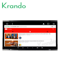 """Vw Stereos Android Australia - Krando Android 8.1 8.8"""" Big Screen Full touch car dvd Multimedia system radio player for VW TOUAREG 2002-2010 video gps BT wifi"""