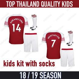 943d6cd5fe4 Wilshere shirt online shopping - 18 AUBAMEYANG LACAZETTE WELBECK Kids kit  soccer jersey children MKHITARYAN RAMSEY