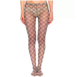 Ingrosso 2020 nuova donna Popolare calze a rete See-through Calze scaldino del piedino Calze sexy scava fuori collant per trasporto di goccia