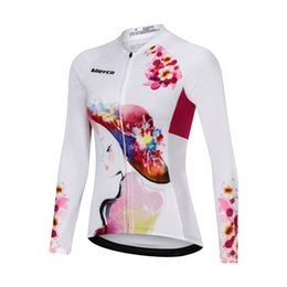 bicycle t shirts Australia - Women Cycling Jersey Tops Summer Bicycle Wear Maillot Ropa Ciclismo Racing Bike Clothes Spring Outdoor Long Sleeve T shirt