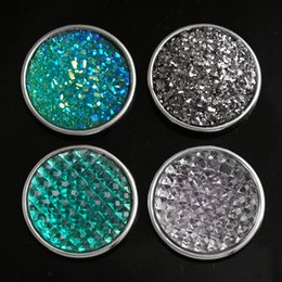 Diy Resin Chain Australia - 18mm button MF9767 Resin 18mm button fit snap jewelry DIY