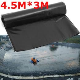 Lattine per piscine impermeabili con rivestimento in stagno da 0,2 mm Lattine da giardino con rivestimento in HDPE rinforzato Heavy Duty Garanty Landscaping Pool Pond 4.5X3M