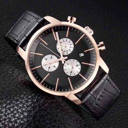Опт Мужские часы лучший бренд роскошные кварцевые часы повседневная кожа спортивные наручные часы Montre Homme мужские часы relogio masculino