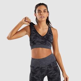 $enCountryForm.capitalKeyWord NZ - 2Pcs Seamless Leggings Bra Yoga Set Women Gym Fitness Clothing High Waist Yoga Sport Legging Set Top Running Sportswear Pant