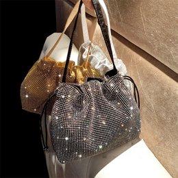 EvEning diamond bags online shopping - 2019 new Female Diamond Handbag Vintage Crystal Design Evening Bag Wedding Party Bride Clutch Bag Purse rhinestone shoulder bags