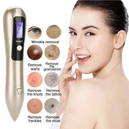 spot tags 2019 - Mole Freckle Tattoo Removal Machine Facial Dark Spot Remover Plasma Pen Wart Tag Point Pen Skin Firming Lifting Wrinkle