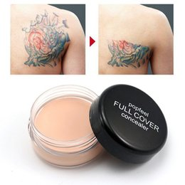 concealer foundation contour face cream NZ - Factory stock 5 Colors Perfect 100% High Coverage Concealer Waterproof Long Lasting Face Foundation Contour Cream Corrective Primer Makeup