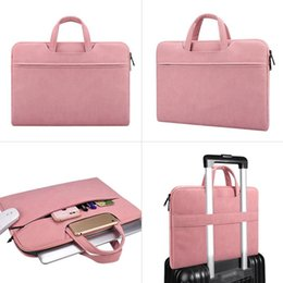briefcase for ipad UK - Computer bags 13.3 14 15.6 inch Computer Laptop Bag Briefcase Handbag for Dell Asus Lenovo Acer Macbook xiaomi Handbags fashion