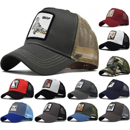 patch baseball cap 2019 - Animal Farm Patch Baseball Cap Back Mesh Cock Print Men Women Sun Caps Fishing Hat discount patch baseball cap