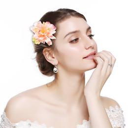 $enCountryForm.capitalKeyWord Australia - M MISM 2 Uses Fabric Blooming Peony Flower Corsage Brooch Woman Hair Accessories Brooch Wedding Party Hair Clip Bridal Wedding