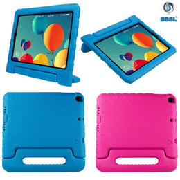 eva case for ipad NZ - Shockproof Kids Case Children Handle Stand Skin Shell EVA Foam Soft Tablet Cover For Apple iPad Air Mini Samsung ipad pro 9.7