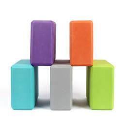 $enCountryForm.capitalKeyWord NZ - Eva Yoga Colorful Foam Block Brick Fitness Tool Exercise Workout Stretching Aid Body Shaping Health Training C19040401