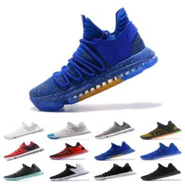 sports shoes 2edc2 f9d17 2019 New Zoom KD 10 Mens Basketball Shoes Be True BHM celebration All 1  Star Multi color Igloo Oreo Designer Trainers Sports Sneakers