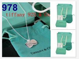 Wholesale New women Hot sterling silver jewelry necklace and bracelet earring original packaging gift boxes Set
