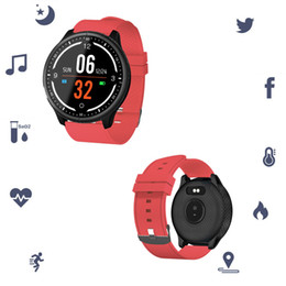 $enCountryForm.capitalKeyWord Australia - Fitness Tracker Heart Rate Wristbands P69 IP68 Bluetooth Smart Watch Touch Screen Blood Pressure Oxygen Bracelet Sleep Monitor Calorie