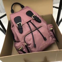 Backpack stitching online shopping - 2018 new brand designer ladies letter printing backpack high quality stitching shoulder bag men s travel bag