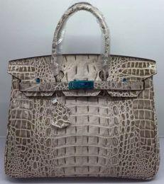 Discount purple snakeskin bag - crocodile shoulder bags tote emboss ostrich wholesale bride women handbag lady purse Au CA FranceTogo genuine leather ba