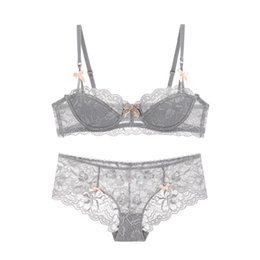 China Ysandrenne Women Perfect Shape Bra and Panties Sets Very Sexy Lace-Trim Cutout Lounge Bra Lady Lingerie Lace Underwear suppliers