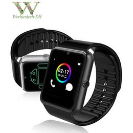 smartphone smart watch android NZ - GT08 Smartwatch With SIM Card Slot Android Smart Watch for Samsung and IOS Apple iphone Smartphone Bracelet Bluetooth Watches
