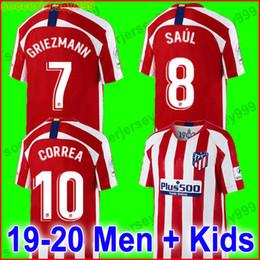 ba966fd7e65 Atletico mAdrid jerseys online shopping - Thailand Atletico Madrid soccer  jersey GRIEZMANN KOKE GABI SAUL DIEGO
