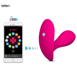 Bluetooth Toys Australia - Leten Bluetooth Connect Intelligent App Remote Control Wearable Butterfly Vibrator,G-Spot Clitoral Vibrator Sex Toys For women