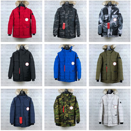 Wholesale long coat styles men online – oversize New Style Relaxed Designer Jacket PBI EXPEDITION PARKA FUSION FIT Men Winter Coats Down Parkas