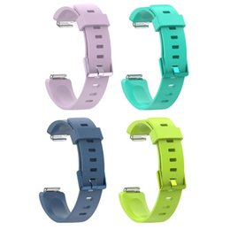 $enCountryForm.capitalKeyWord Australia - 22cm Length Silicone Bracelet Watch Band Wrist Strap for Fitbit Inspire Inspire HR L